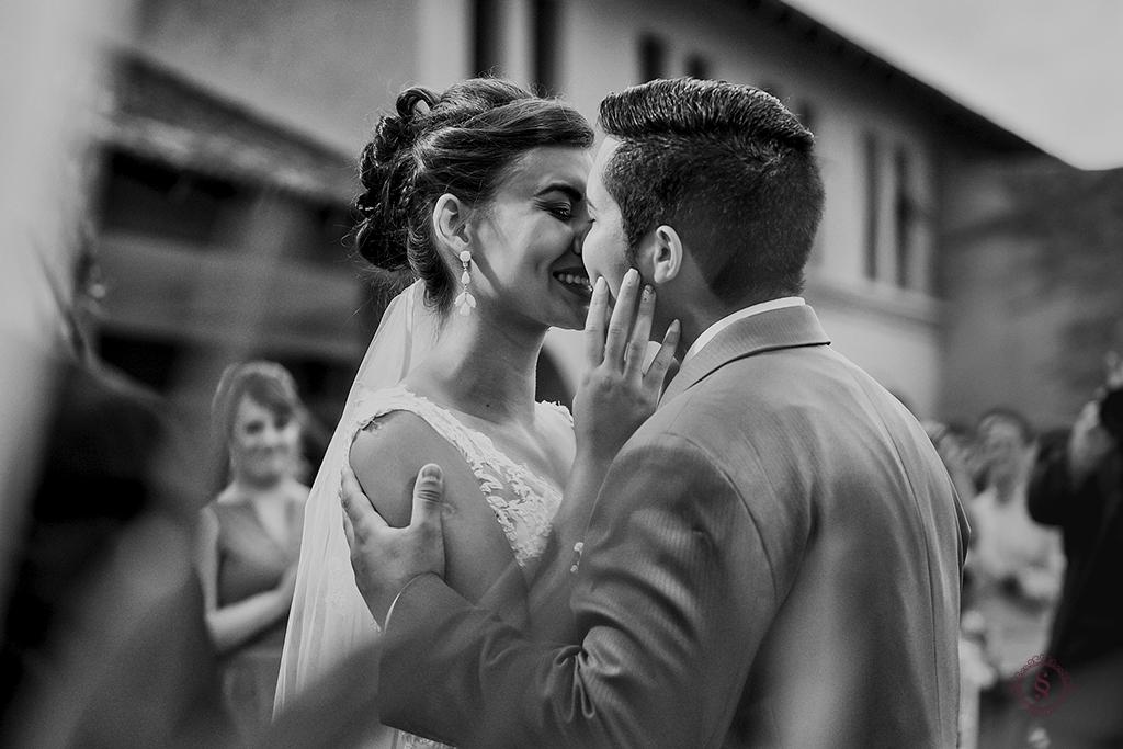 a hora do beijo casamento carol e jonatas