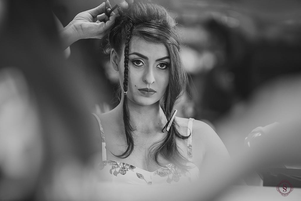 carol no making of para o grande dia cabelo de noiva