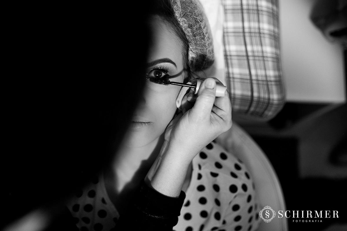 rímel maquiagem laura model 15 anos making of em casa debutante capão da canoa RS