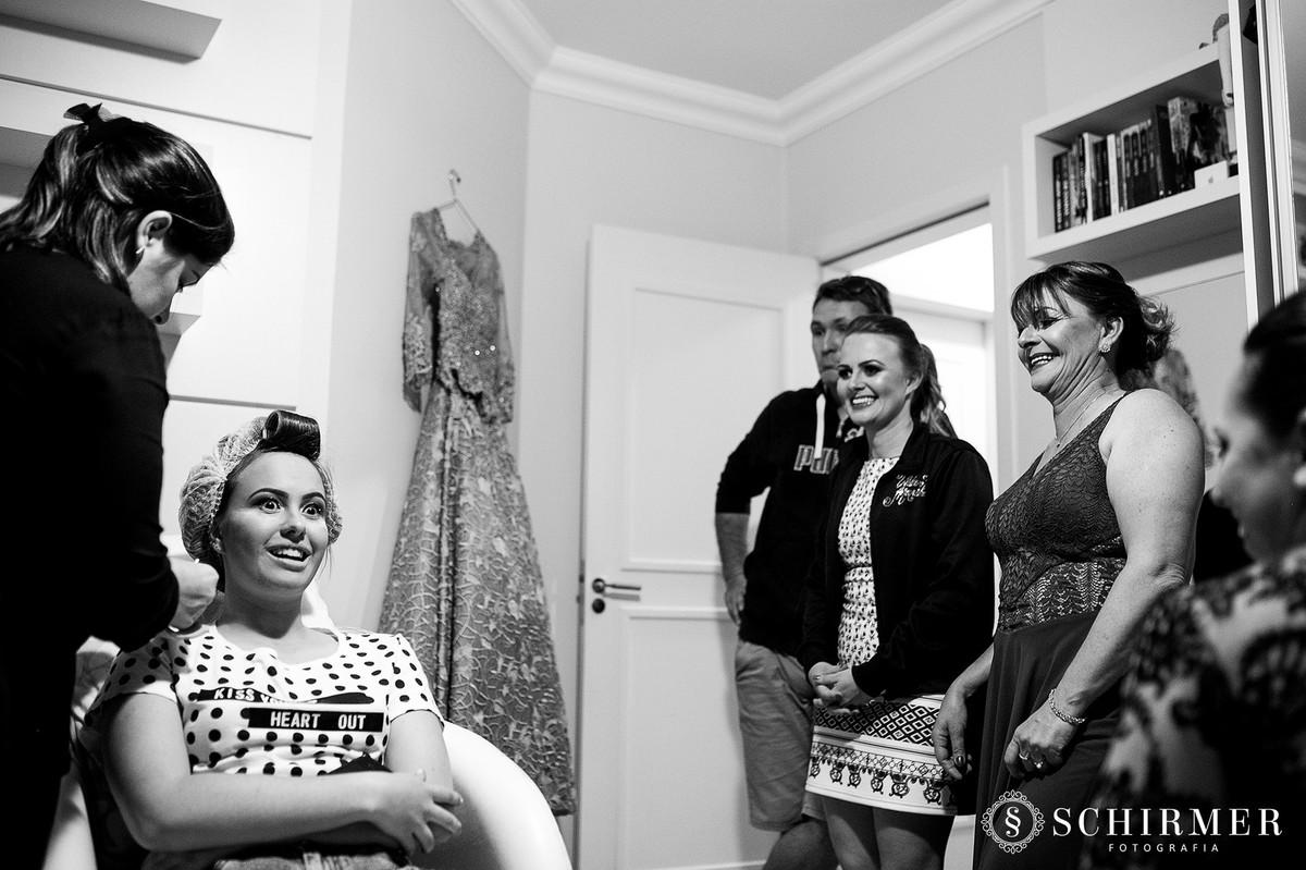familia laura model 15 anos making of em casa debutante capão da canoa RS