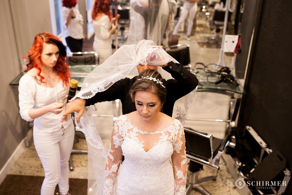making of noiva andressa véu de noiva
