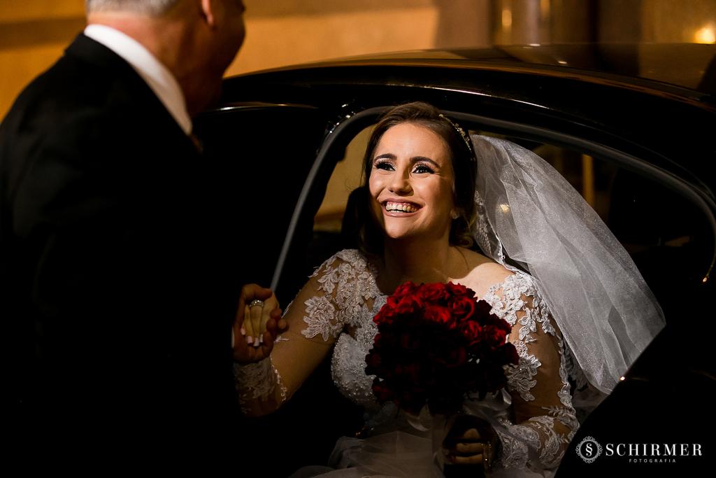 casamento porto alegre noiva andressa e jõao igreja santo antonio pai da noiva entrada