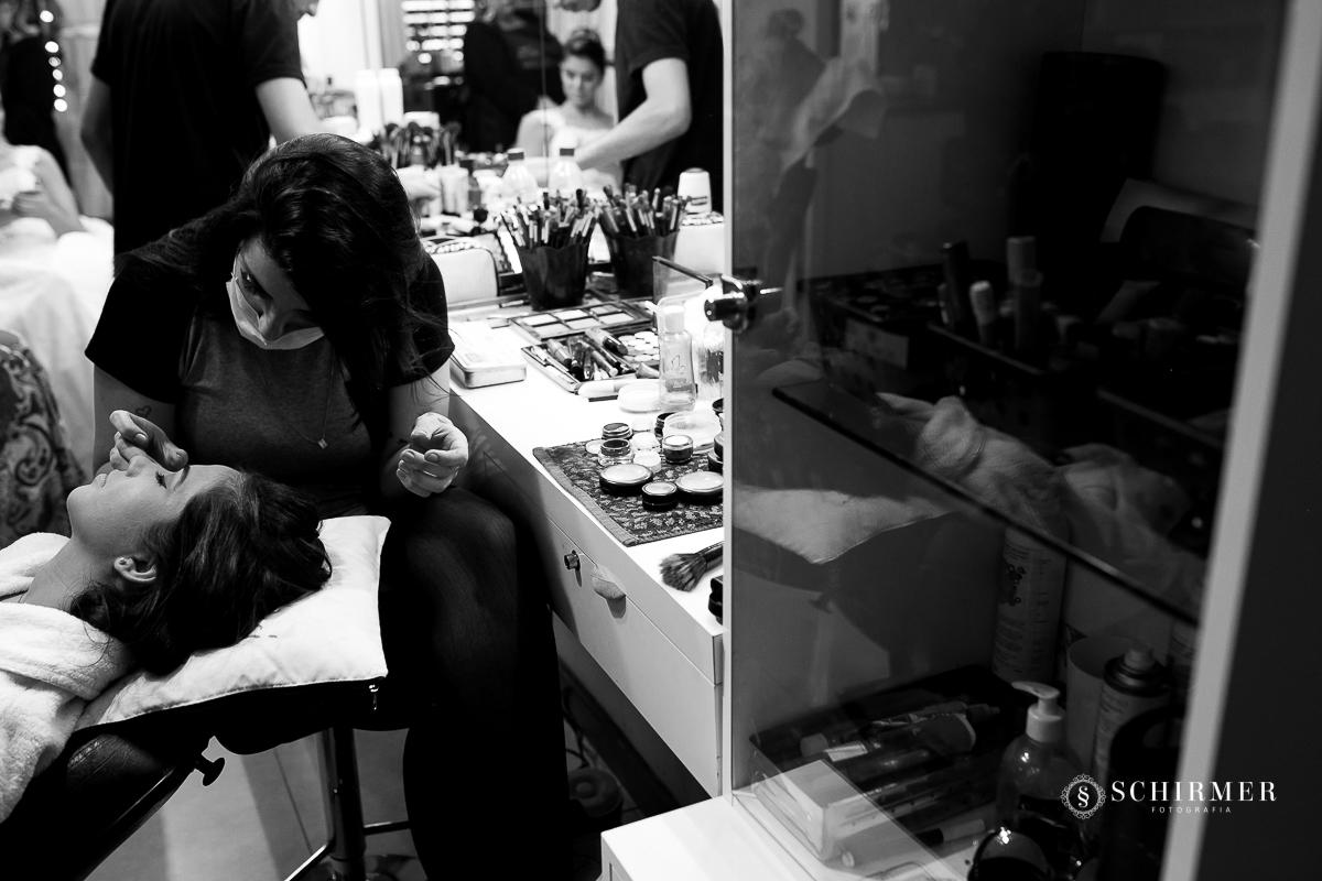 maquiagem da noiva - making of noiva make divando divas maquiadoras top  - schirmer fotografia