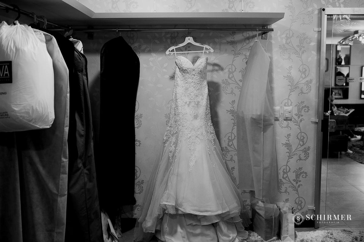 vestido da noiva  - schirmer fotografia