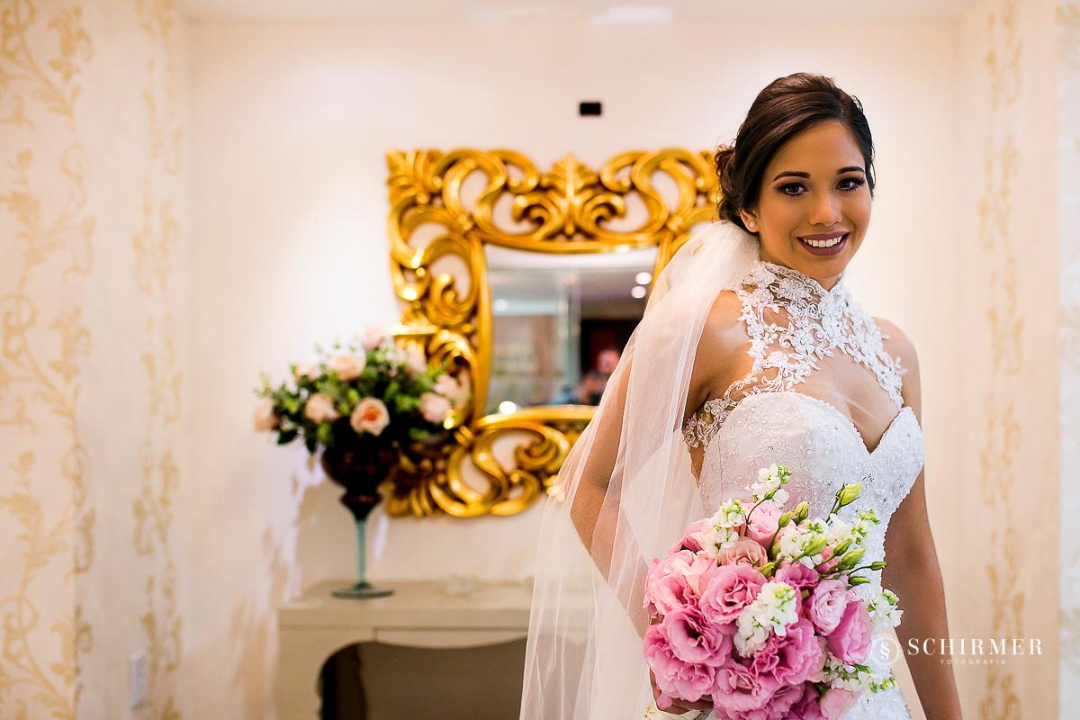 noiva pronta - buque de noiva bouquet flores véu de noiva schirmer fotografia