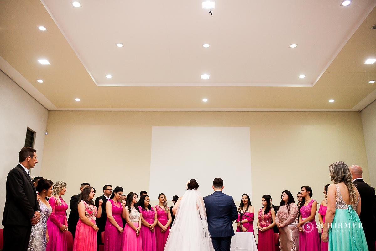 madrinhas e padrinhos rosa - schirmer fotografia - porto alegre - fotografo de casamento maycon e jana
