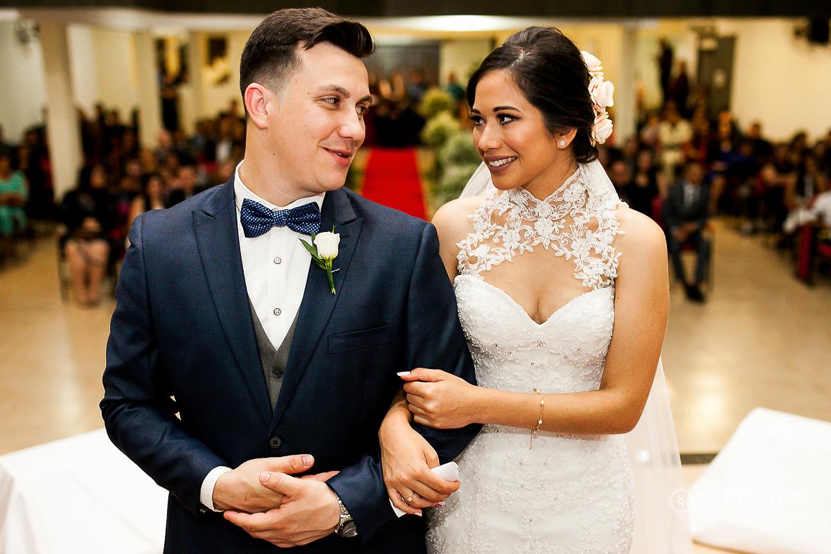 troca de olhares - schirmer fotografia - porto alegre - fotografo de casamento maycon e jana
