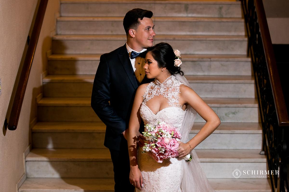 primeira foto do casal - schirmer fotografia - porto alegre - fotografo de casamento maycon e jana