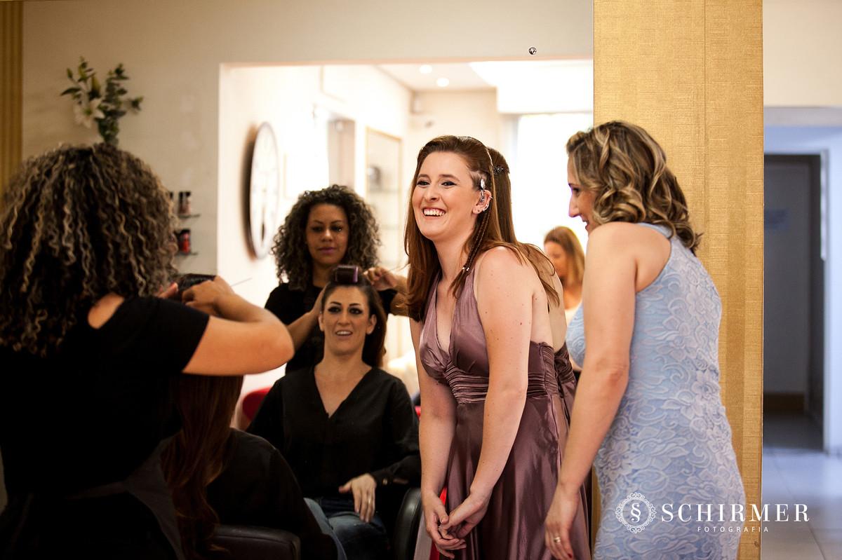schirmer fotografia casamentos em porto alegre RS madrinhas amigas da noiva