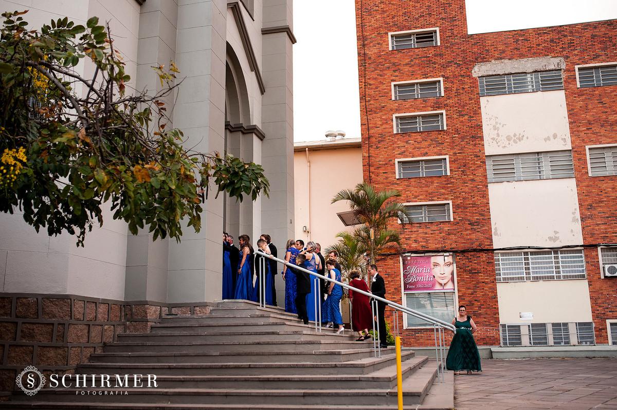 schirmer fotografia casamentos em porto alegre RS igreja paroquia são joão madrinhas