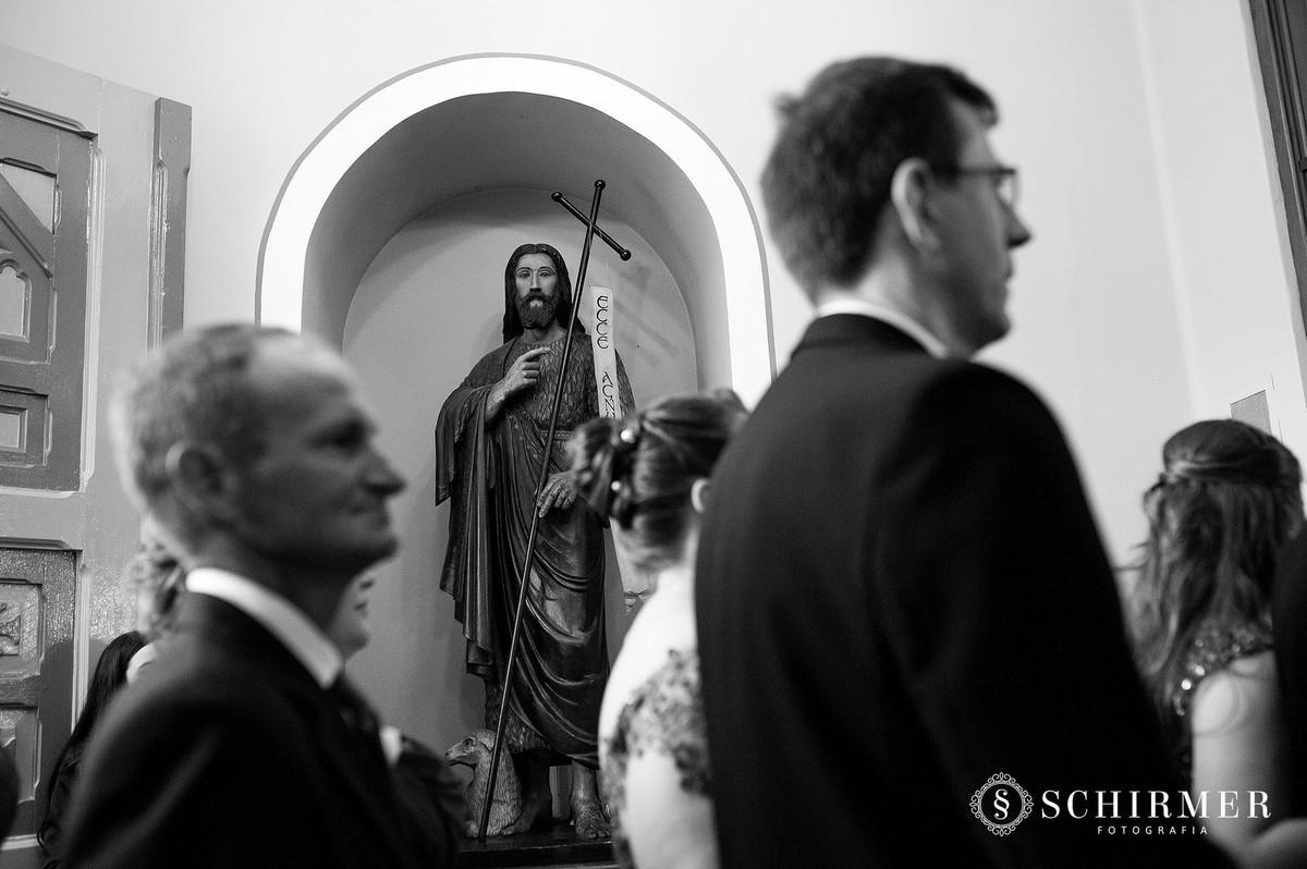 schirmer fotografia casamentos em porto alegre RS igreja paroquia são joão noivo noiva jesus