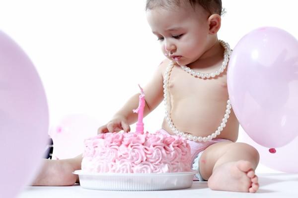ensaio Infantil de Smash The Cake Lívia