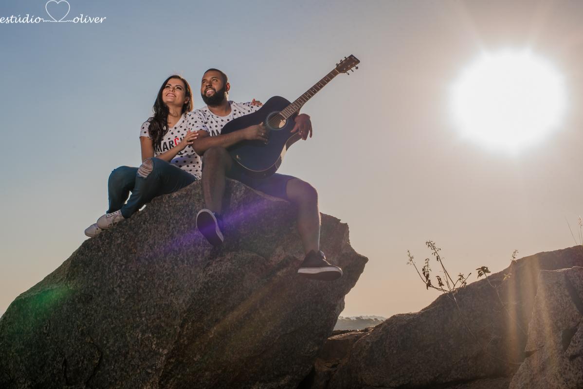 Foto de Larissa e Alan