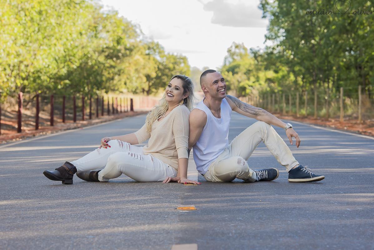 Foto de Bia e Gustavo