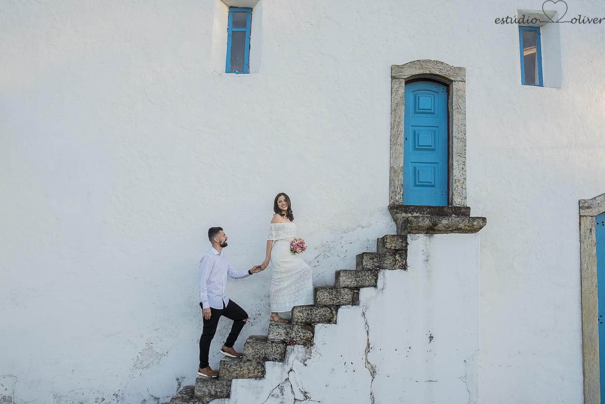Foto de Barbara e Dyogo