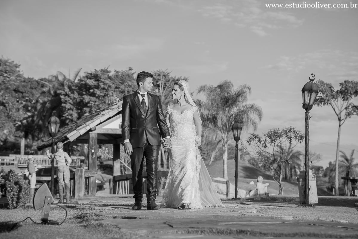 Foto de Mayara e Enoque