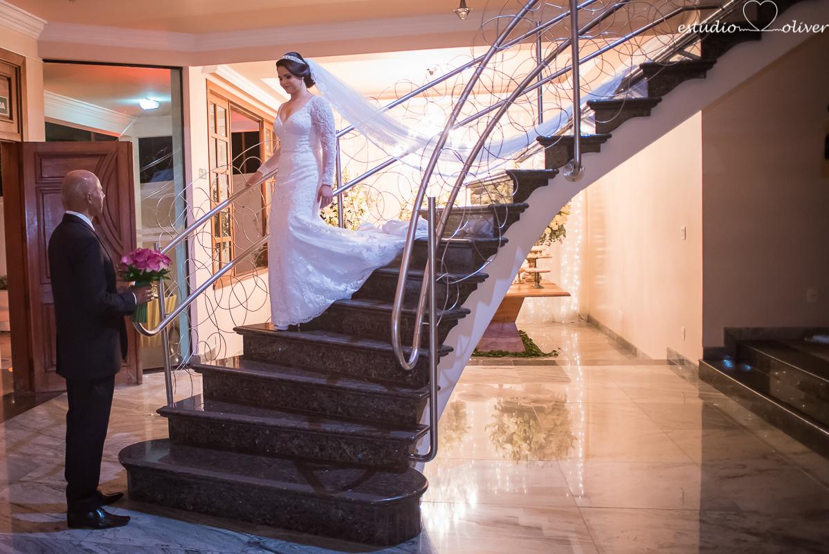 casamento no stael luiza, stael luiza pampulha, fotos de casamento no stael luiza, noiva descendo escada no stael luiza