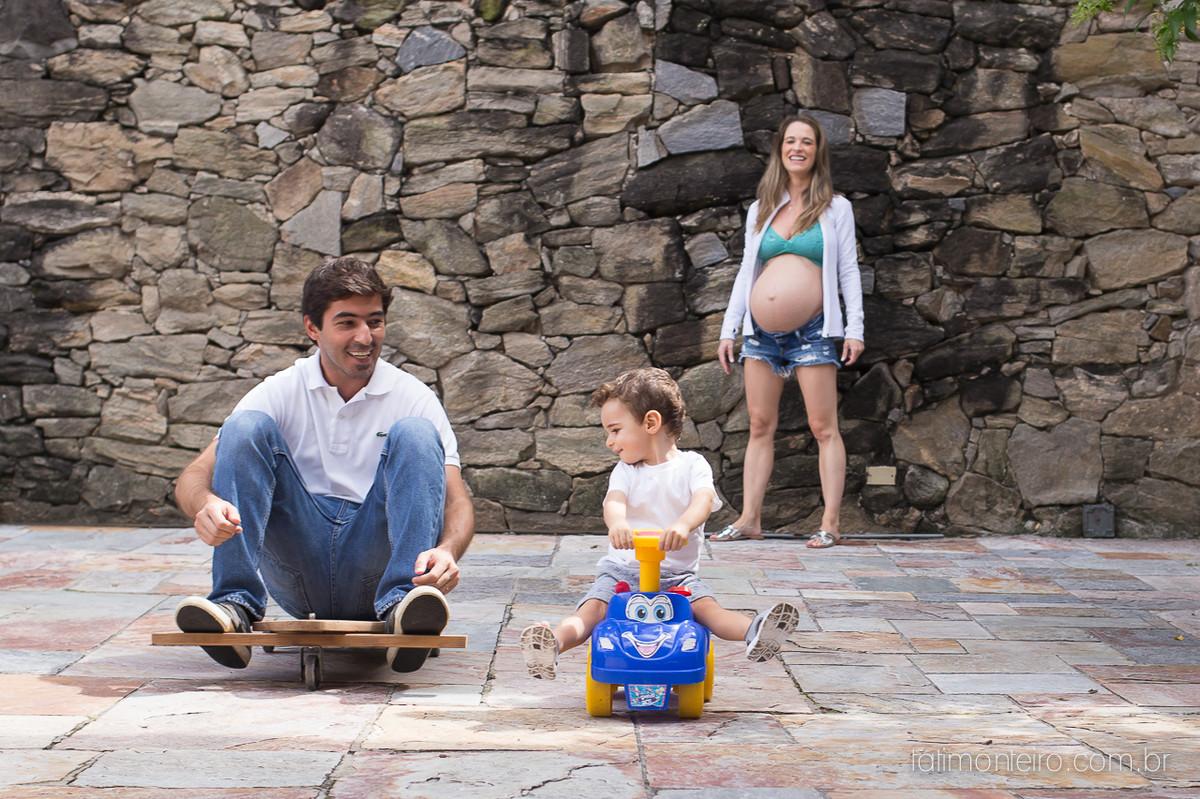 fotografa especializada em gestante sp, pai brincando com filho