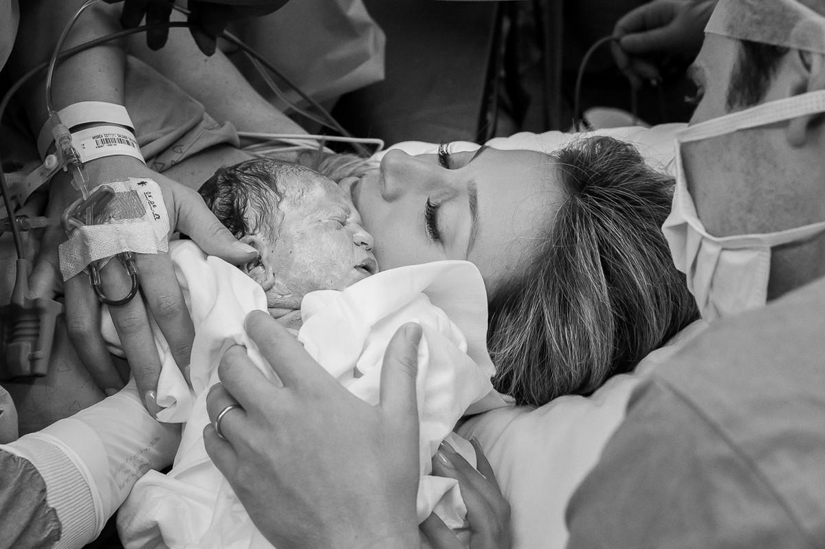 Foto de FOTOGRAFIA DE PARTO - Nascimento Gabriela