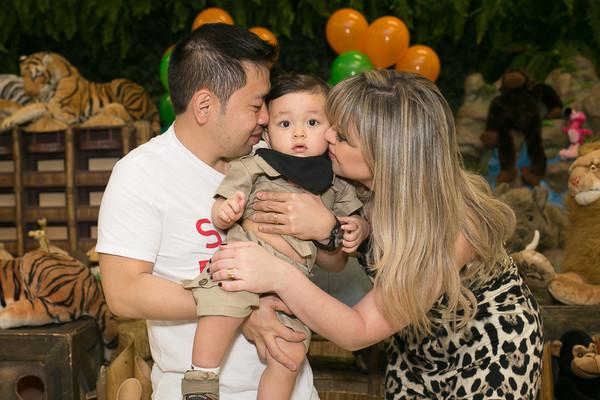 Aniversários de Marcos Vinicius - 1 ano