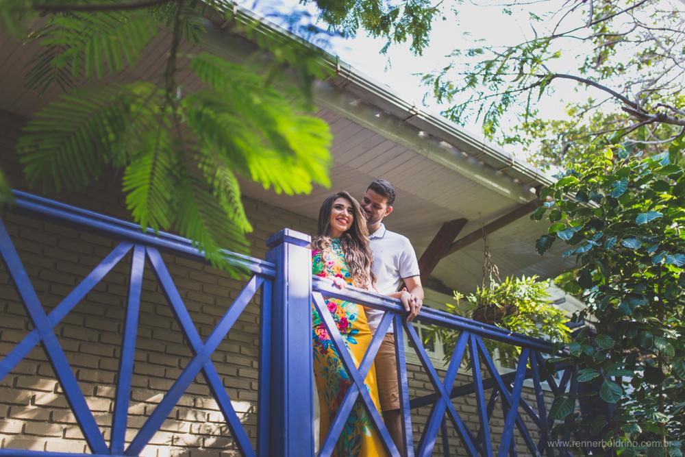 Foto de Rany e Gabriel