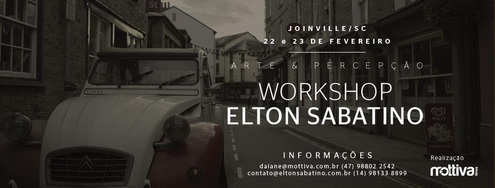 Imagem capa - Workshop Arte e Percepção com Elton Sabatino por Mottiva Filmes