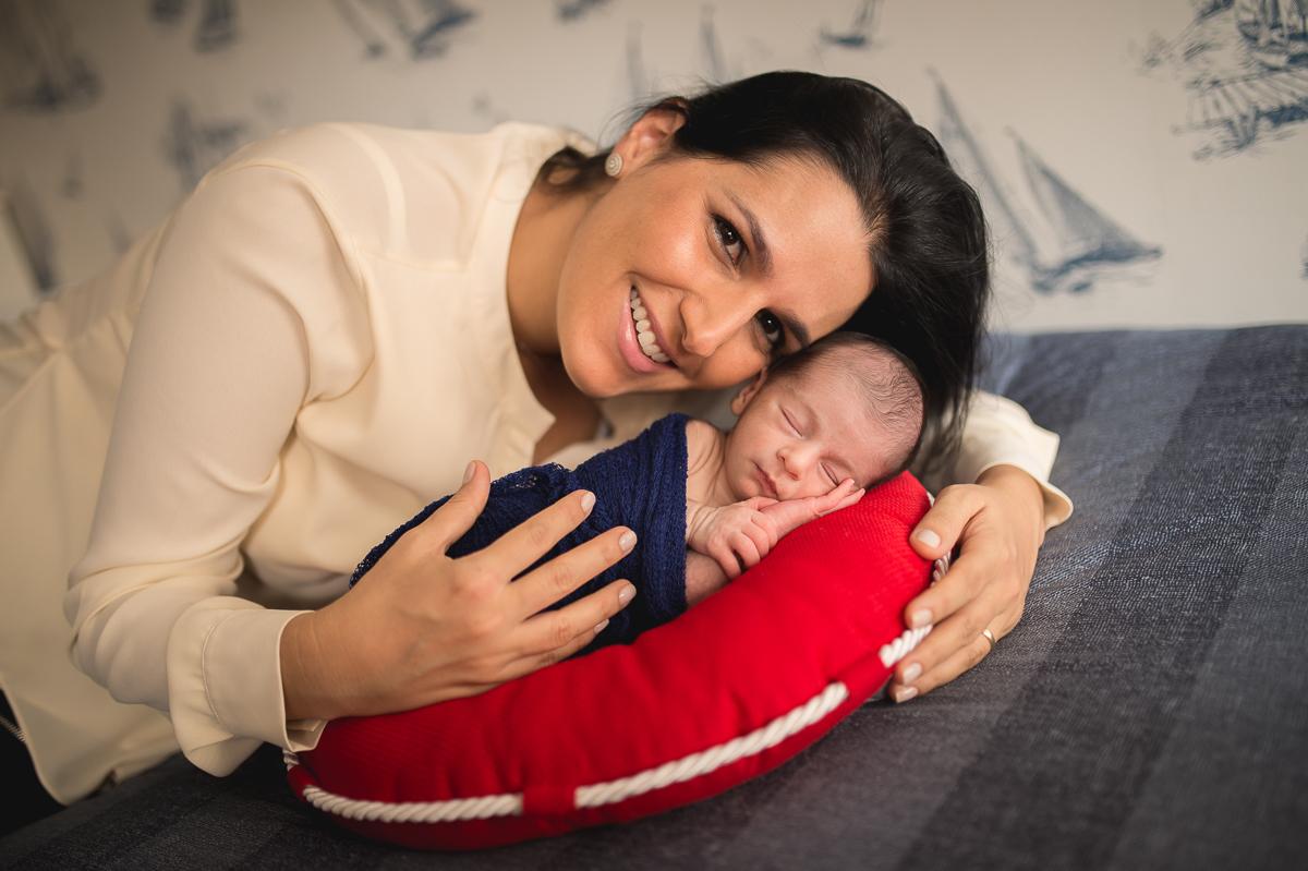 Foto de Newborn do Fernando