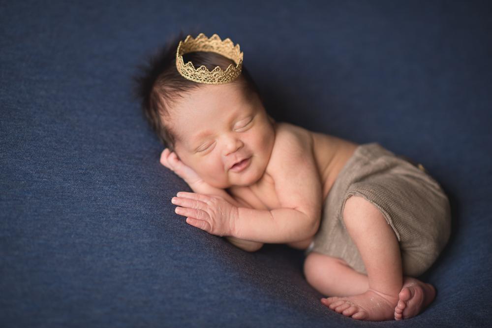 Foto de Newborn do Benjamim