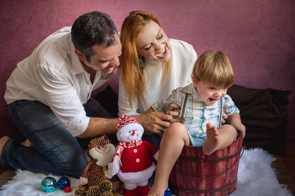 Foto de Lorenzo e família