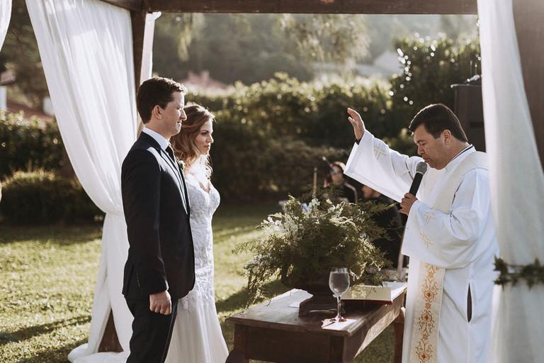 benção do padre