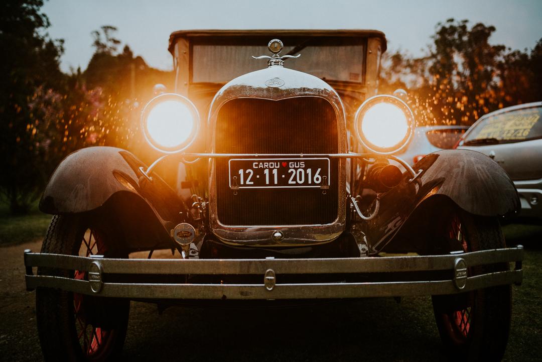 carro antigo para casamento
