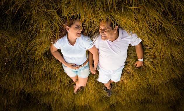 Capa do álbum do Ensaios de Reciela e Jeferson fotografados por Eduardo Perazzoli