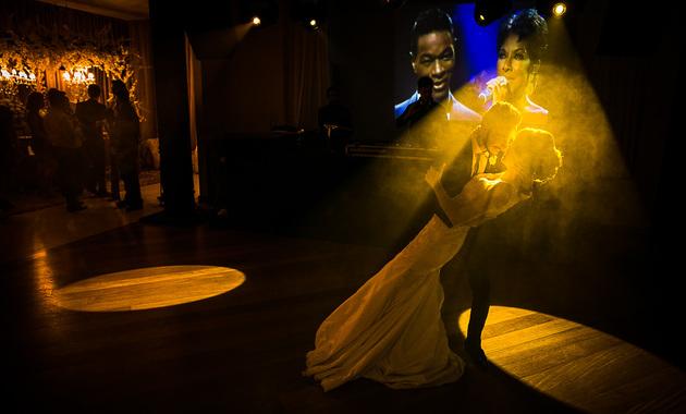 Capa do álbum do Casamentos de Danielle e André fotografados por Eduardo Perazzoli