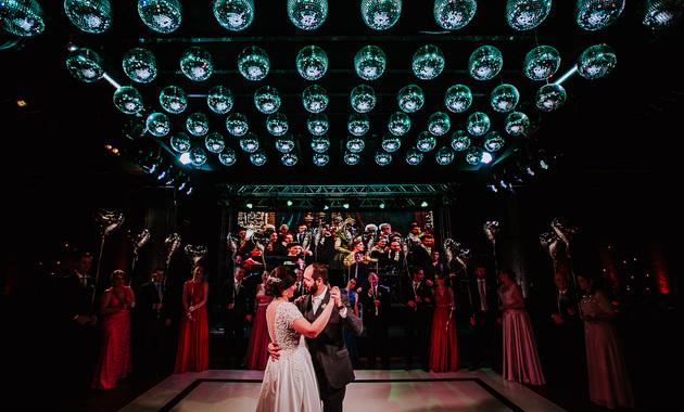Capa do álbum do Casamentos de Camila e Henrique fotografados por Eduardo Perazzoli