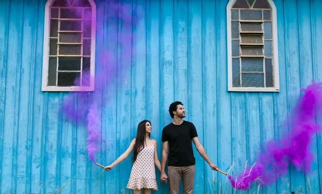 Capa do álbum do Ensaios de Talita e Laio fotografados por Eduardo Perazzoli