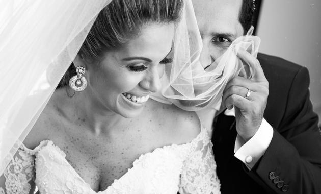Capa do álbum do Casamentos de Ticiana e Leonardo fotografados por Eduardo Perazzoli