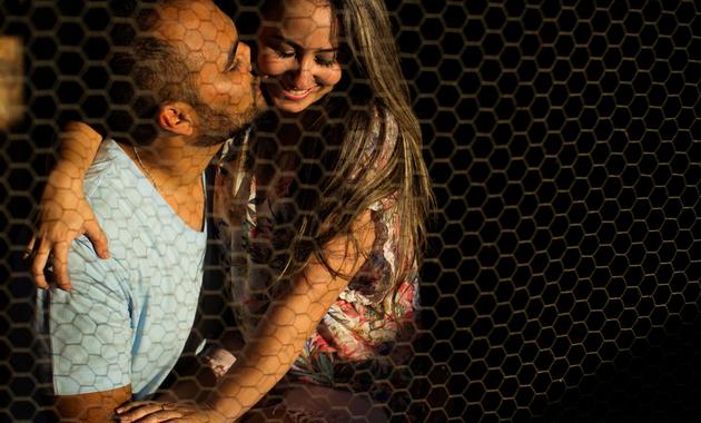 Capa do álbum do Ensaios de Mônica e Diego fotografados por Eduardo Perazzoli