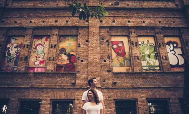 Capa do álbum do Ensaios de Stéphanny e Gerson fotografados por Eduardo Perazzoli