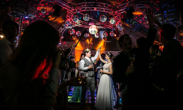 Capa do álbum do Casamentos de Iara Castanho e Fernando Ramirez fotografados por Eduardo Perazzoli