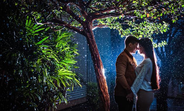 Capa do álbum do Ensaios de Jéssica Oliveira e Kaio Capilla fotografados por Eduardo Perazzoli