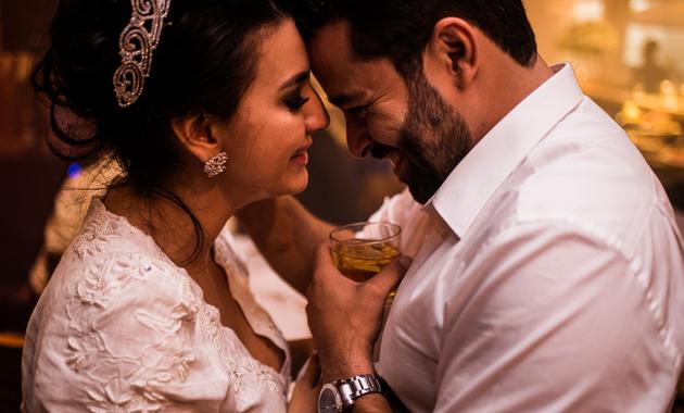 Capa do álbum do Casamentos de Ana Carolina e Jailton fotografados por Eduardo Perazzoli