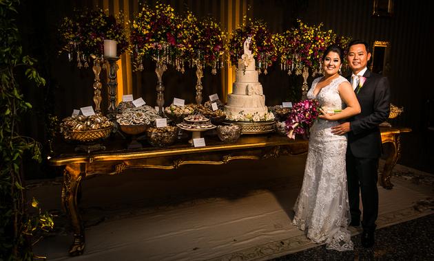 Capa do álbum do Casamentos de Carol Yamao e Eduardo Hisamitsu fotografados por Eduardo Perazzoli