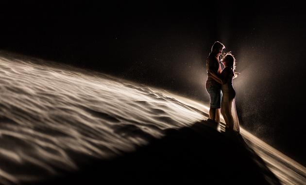 Capa do álbum do Ensaios de Camila e Tiago fotografados por Eduardo Perazzoli