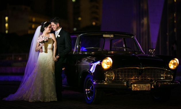 Capa do álbum do Casamentos de Larissa e Thiago fotografados por Eduardo Perazzoli