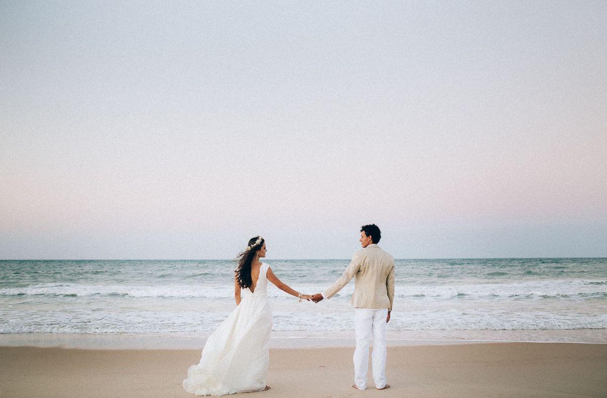 Casamento na Praia do Cumbuco William Junior Fotógrafo de Casamento em Fortaleza