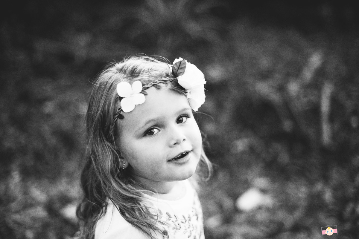 Foto de Isa, 3 anos