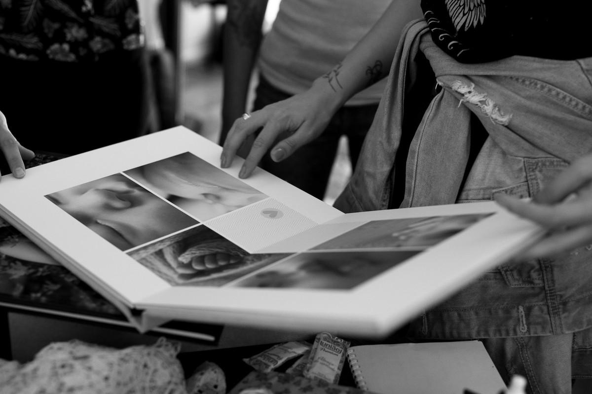 Álbum em suede com laminação Velvet, Go Image sempre se superando! fotografia por Johnny Acunha