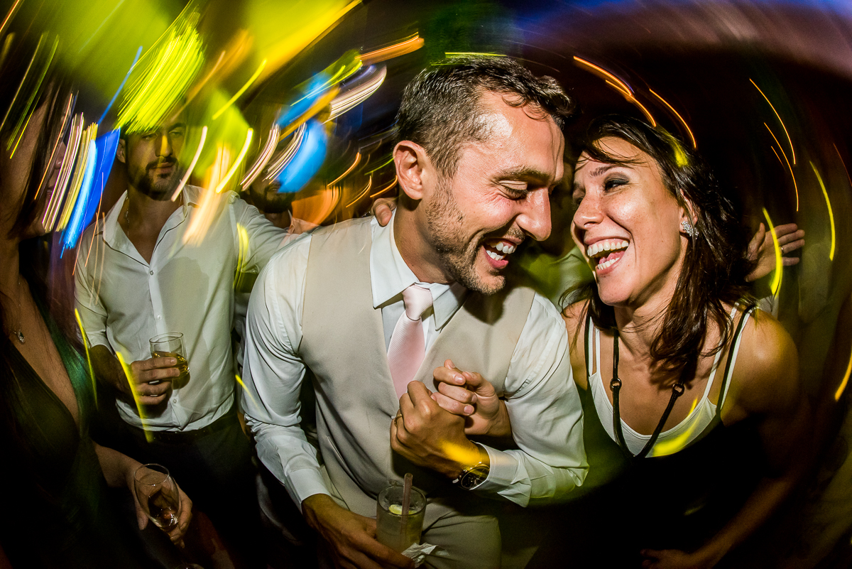 Foto de Luma e Fábio