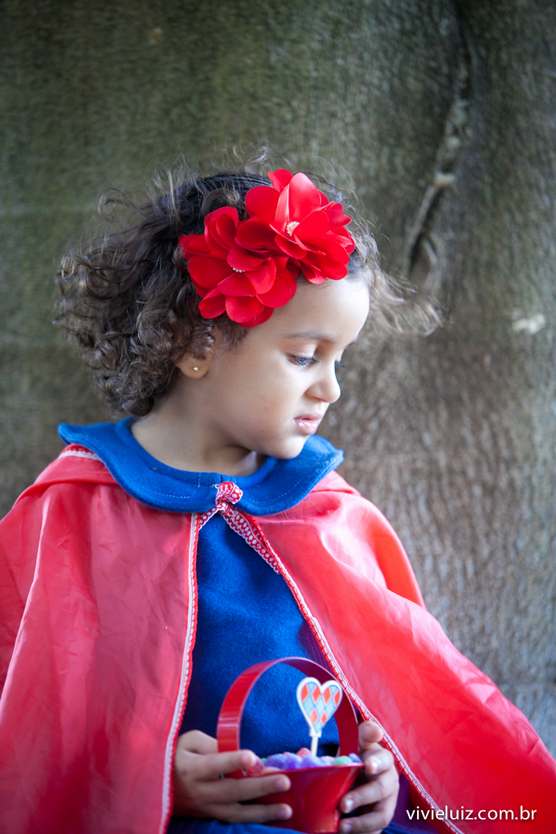 chapeuzinho vermelho de perfil