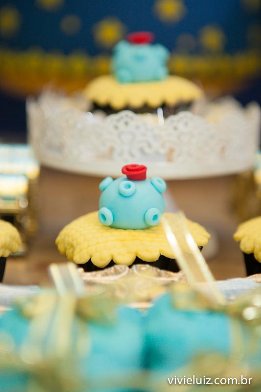 cupê cake do pequeno príncipe